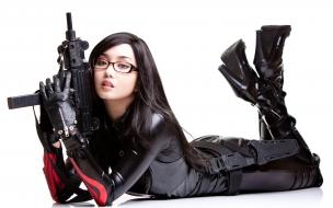 Una agente asiática