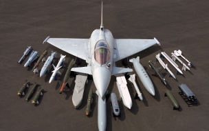 Eurofighter y todo su armamento