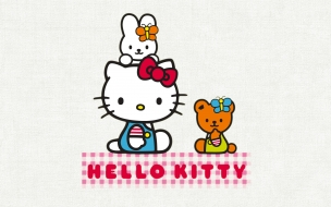 Hello Kitty fondo blanco