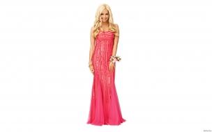 Ashley Tisdale con vestido de gala