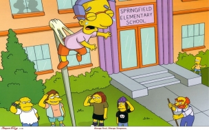 Bullying en los Simpsons