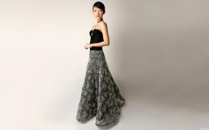 Ziyi Zhang con vestido