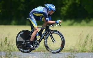 Ciclista Alberto Contador