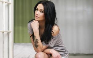 Megan Lyn y su tatuaje