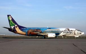 Avión comercial de Alaska