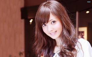 Una hermosa chica japonesa