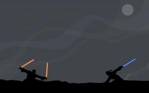 Pelea en Star Wars