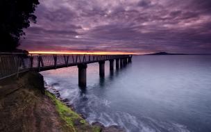 Muelle en Nueva Zelanda