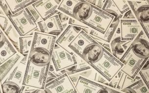 Texturas de dólares
