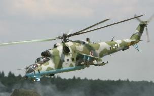 Helicóptero Mi 24