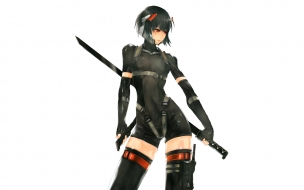 Una chica ninja