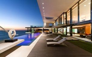 Casa con vista al mar