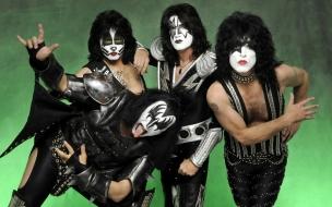 Las caras pintadas de Kiss