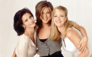 Jennifer Aniston y sus amigas