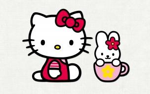 La gatita de Hello Kitty