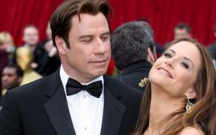 John Travolta y Kelly