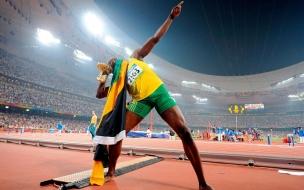 Usain Bolt en los juegos