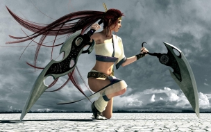 Chica de Heavenly Sword