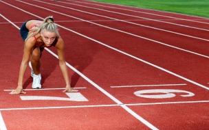 Rubias en atletismo