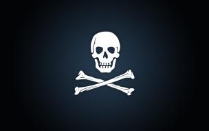 Calavera de piratas