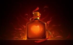 Perfume y corazones
