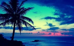 Atardeceres en playas