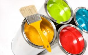 Baldes de pintura