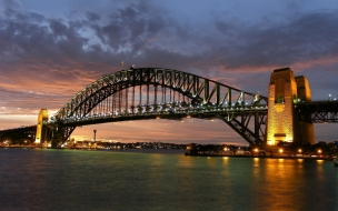 El puente de Sydney Harbour
