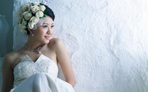 Vestido de novia asiático