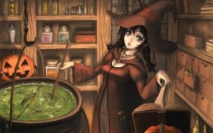 Dibujo de brujas