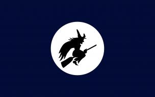 Bruja y luna llena
