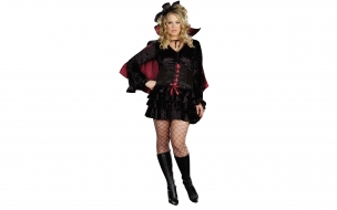 Disfraz de rubia vampira