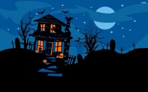 La casa embrujada halloween