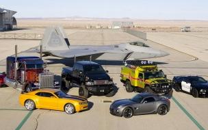 Autos y aviones