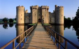 El castillo Bodia en Inglaterra