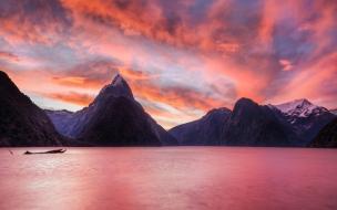 Lago de Nueva Zelanda