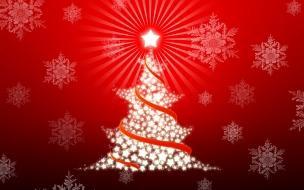 Arbol de navidad con estrellas