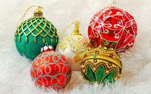 Diseños de bolitas de navidad