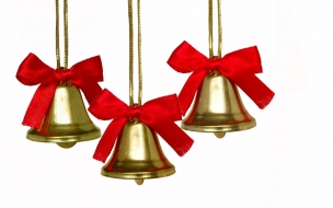Adornos de campanas para árbol