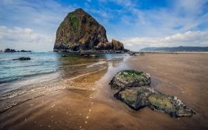 Rocas en las playas