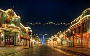 Calles decoradas por navidad