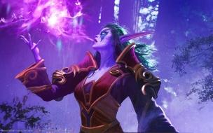 Una bruja en World of Warcraft