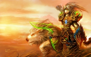 Blood Elf de World of Warcraft