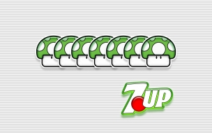 7UP gracioso