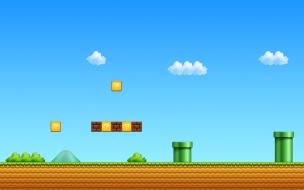 El escenario de Mario Bros