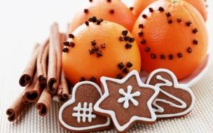Frutas y galletas