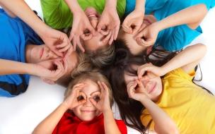 Fotografías creativas a niños