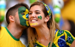 Hinchas de Brasil 2014