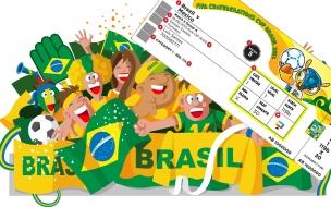Boletos para Brasil 2014