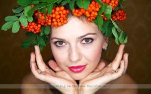 Bella chica de ojos verdes